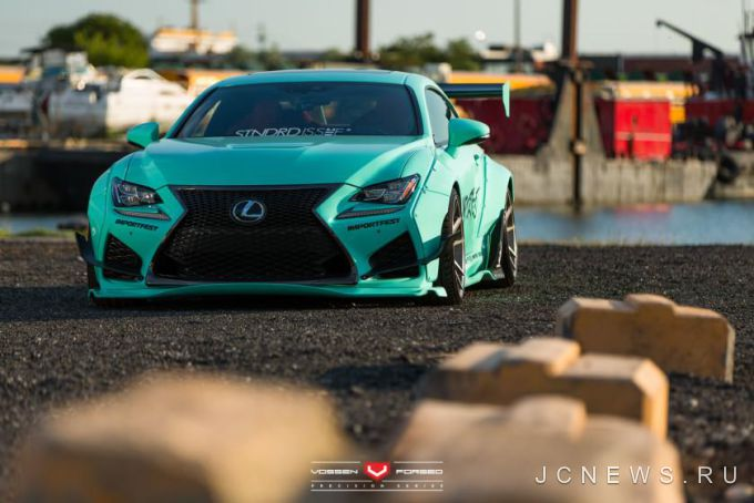 Lexus RC F от Vossen Wheels